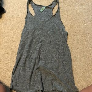 Gray Athletic Tank Top